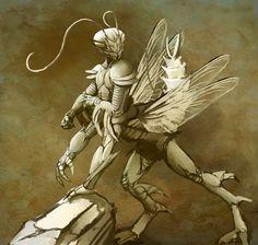 nomyai's+mantis+warrior+by+hattonslayden.deviantart.com+on+@DeviantArt