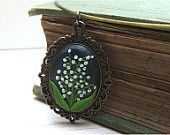 lily of the valley jewelry on Etsy, a global handmade and vintage marketplace.