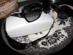 Versace and Coach sunglasses