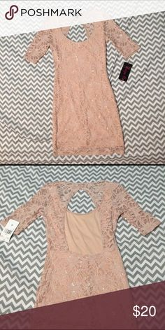🌷Easter Dress🌷 NWT Reign On brand dress. Features an open back and quarter length sleeves. Mid length and super cute Reign On  Dresses Midi