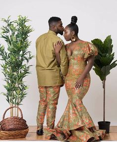 Best of Ankara Styles for Couples Couples African Outfits, Couple Outfits, African Attire, African Wear, African Women, African Dress, African Clothes, African Style, Ankara Styles For Men