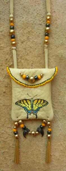 tiger swallowtail Leather Work