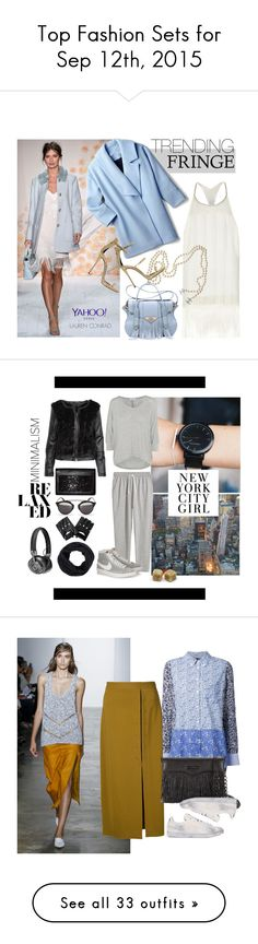 """""""Top Fashion Sets for Sep 12th, 2015"""" by polyvore ❤ liked on Polyvore featuring River Island, Chanel, Ella Rabener, Giuseppe Zanotti, contestentry, PolyvoreNYFW, NYFW2015, yahoostyle, Christian Dior and H&M"""
