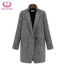 Find More Wool & Blends Information about MYCOURSE Fashion Women's Grey Wool…