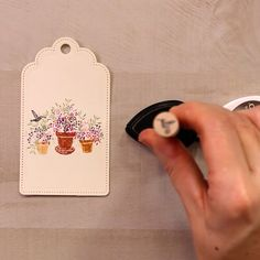 Card Ideas Discover Hummingbird Patio Gift Tag The Hummingbird Patio Peg Stamp Set from Rubber Stamp Tapestry makes creating unique paper crafts fast easy and FUN! Wine Gift Baskets, Handmade Tags, Christmas Drawing, Card Making Techniques, Flower Cards, Paper Flowers, Diy Cards, Homemade Cards, Birthday Cards