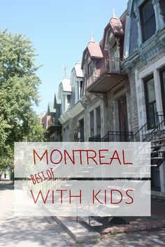 10 things to do in Montreal with kids in the summer! Montreal is a fantastic…
