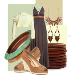 """""""Wooden Summer"""" by christina-young on Polyvore"""