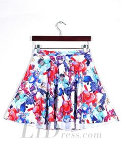 Hot Digital Printing Super Pleated Skirts Skt1116