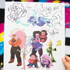 More Steven Universe artwork