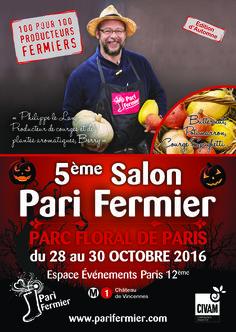 5ème salon d'automne Pari Fermier au Parc Floral de Paris (Paris 12ème)