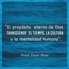 """Yasser Rivas - El Propósito Eterno De Dios, Se Llama """"Cristo"""" El No Es Un Medio Para Alcanzar Cosas, El Es El Principio y Fin, De Todas Las Cosas!!"""