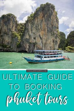 Everything You Need To Know About Booking Phuket Tours | Read this guide before booking your tour! Not all tour companies operate the same way; make sure to find one that is safe, reliable and reputable so youll have a great time in Phuket. Whether you have world famous island hopping tours on your Phuket itinerary or youre looking for adventure things to do in Phuket, this guide will help you decide! Great for families, budget and honeymoon travel! #enSquaredAired #Phuket