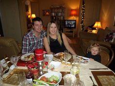 Christmas dinner at me me's x