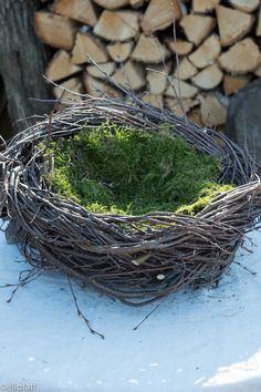 Diy Arts And Crafts, Decor Crafts, Wreath Crafts, Rama Seca, House Plants Decor, Idee Diy, Easter Wreaths, Holidays And Events, Easter Crafts
