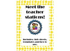 Information Sheets Templates 142 Best Student Folders Images On Pinterest  Classroom Ideas .