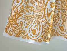 French Country Paisley Cafe Curtain 59 x 27 inch home by giardino, $79.00