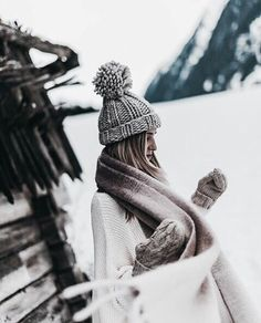 Pom-pom hat necessary. Ootd Winter, Winter Night, Winter Time, Winter 80ac625d727