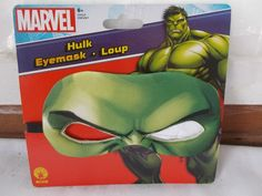 New Rubie's Marvel Hulk Eye Mask Child #Rubies