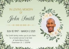 Death Anniversary & funeral template, obituary poster template, farewell posters designs, memorial posters for funeral, celebration of life poster, death anniversary cards, 1st death anniversary cards Postcard. Tags: funeral, funeral template, in loving memory, memorial day, obituary, Memorial Day, Funeral , Memorial Day Anniversary Cards, Funeral Memorial, Memorial Day, Santa Maria Church, Life Poster, Poster Designs, In Loving Memory, Flyer Template