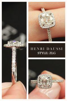 Cushion Cut Engagement Ring Inspiration