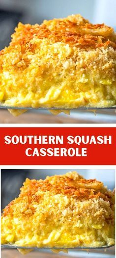 Southern Squash Casserole, Summer Squash Casserole, Veggie Side Dishes, Vegetable Dishes, Side Dish Recipes, Vegetable Recipes, Casserole Dishes, Veggie Casserole, Casserole Recipes