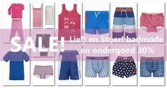 De SALE is begonnen bij #Underfashion. Profiteer nu van 30% korting op Lief! Lifestyle kinderondergoed, badmode en nachtmode. Bestel bij  https://www.underfashion.nl/lief