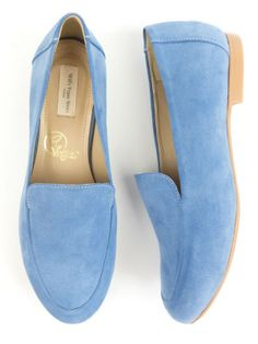 5f08024755a Will s Vegan Shoes Womens Blue Faux Suede Vegan Loafers at wills-vegan -shoes.
