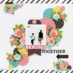 Cousins together layout |shop and crop dt