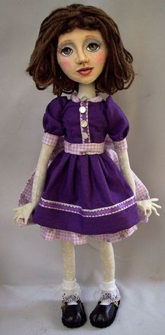 A sort of Selfie of me as a child in a dress based on one my Mother made for me when I was 7.  Loved that dress!