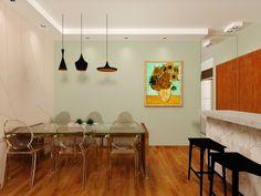 Fernanda Seabra - Designer de Interiores: LIVING E JANTAR