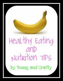Ideas for healthy snacks.