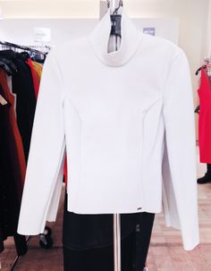 #BGSale - say yes to this leather Altuzarra turtleneck. 212 872 8747