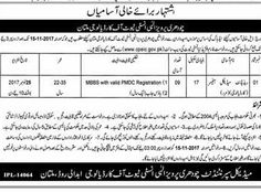 Allama Iqbal Medical College Jinnah Hospital Jobs  In Lahore