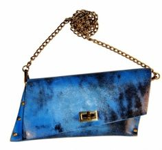great leather clutch