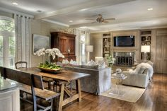 "Love the ""informal dining room"" as part of the kitchen and living area"