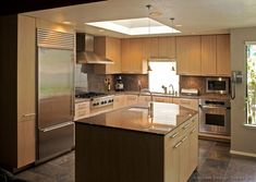 Kitchen Island Design Ideas Of Kitchens Modern Light Wood