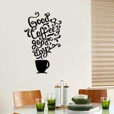Noir cuisine du restaurant cafe stickers muraux Décoration de la maison -1098