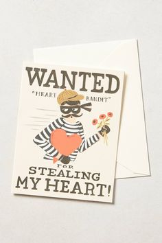 Heart Bandit Card