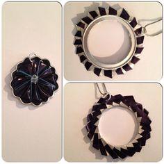 Ciondoli fatti a mano con le capsule nespresso.  Handmade  pendant