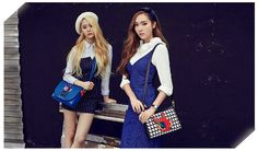 Wonderful Generation: More of Jessica and Krystal for 'LAPALETTE'