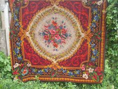 antique VICTORIAN TAPESTRY MOHAIR chenille by JacquelineMeuross