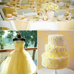 And what if you went for Yellow&White Wedding theme? More at http://ift.tt/2pd18Be -