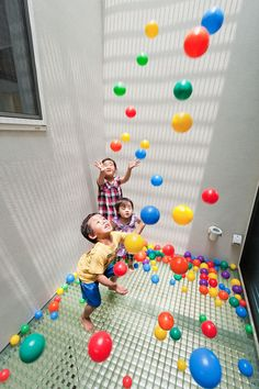 what kid would not want a ball pit in their house~