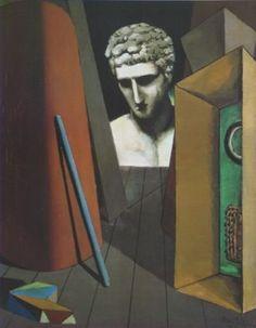 Art Print: Melancolie Hermetique, by Giorgio De Chirico : Italian Painters, Italian Artist, Spanish Painters, Magritte, Art Tribal, Art Antique, Arte Popular, Art Moderne, Traditional Paintings