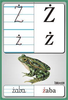 litery przedszkole - Szukaj w Google Reading Skills, Writing Skills, Learn Polish, Montessori, Alphabet, Classroom, Letters, Exercise, Education
