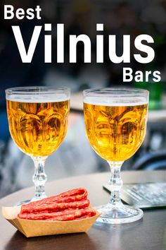 Drinking in Vilnius is a must during any visit to the capital of Lithuania. Check out 10 Vilnius bars and and pubs where you can drink beer, wine, cider, mead and cocktails. | Vilnius Bars | Vilnius Pubs | Vilnius Beer | Vilnius Craft Beer | Lithuanian Beer | Craft Beer in Vilnius Whisky Shop, Lithuanian Recipes, Man Bars, Alcoholic Drinks, Cocktails, Drinking Around The World, All Beer, Drink Beer, Tap Room
