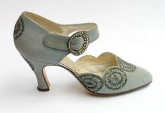 Turquoise suede wedding shoe
