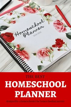 Homeschool planner for the academic school year. Contains areas to reflect and plan ahead, monthly overview and weekly subject planning. Planner Tips, Yearly, Education Quotes, Spreads, Raising, Reflection, Organize, Good Things, Homeschooling