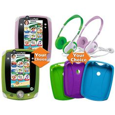 LeapFrog LeapPad2 Plus Headphones & Gel Skin Value Bundle