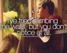 One Thing- One Direction.